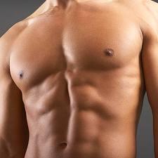 Yoga mans fit body